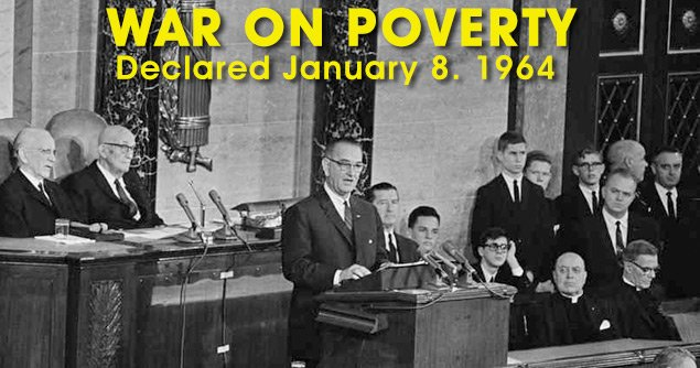 50 Years of the War on Poverty