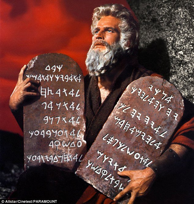 CharltonHestonasMoses